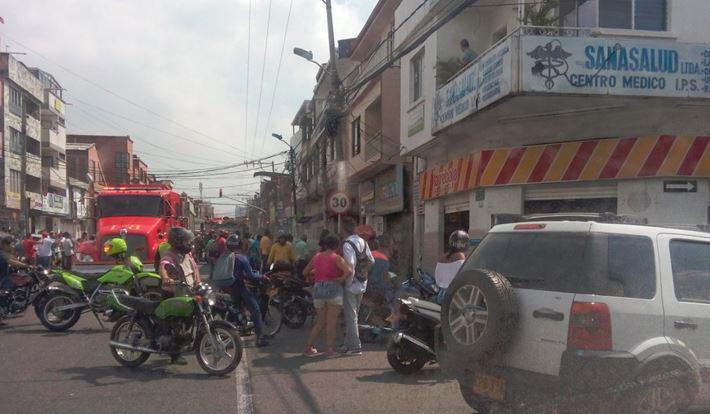 Incendio en panadería del barrio Alameda deja 3 personas heridas