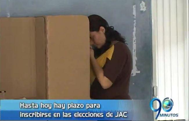 Vence el plazo de inscripción para elecciones de JAC en Cali