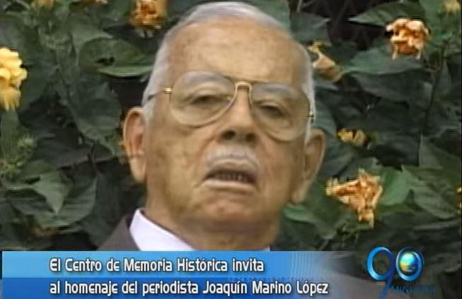 Secretaría de Cultura rinde homenaje al periodista Joaquin Marino Lopez