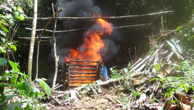 En laboratorio ilegal al sur del Cauca 15 personas resultaron quemadas