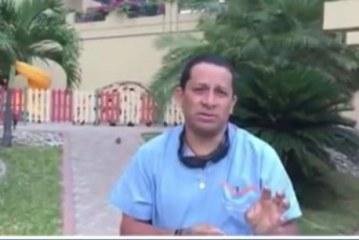 Laureano Quintero relata cómo han sido las labores de rescate en Ecuador