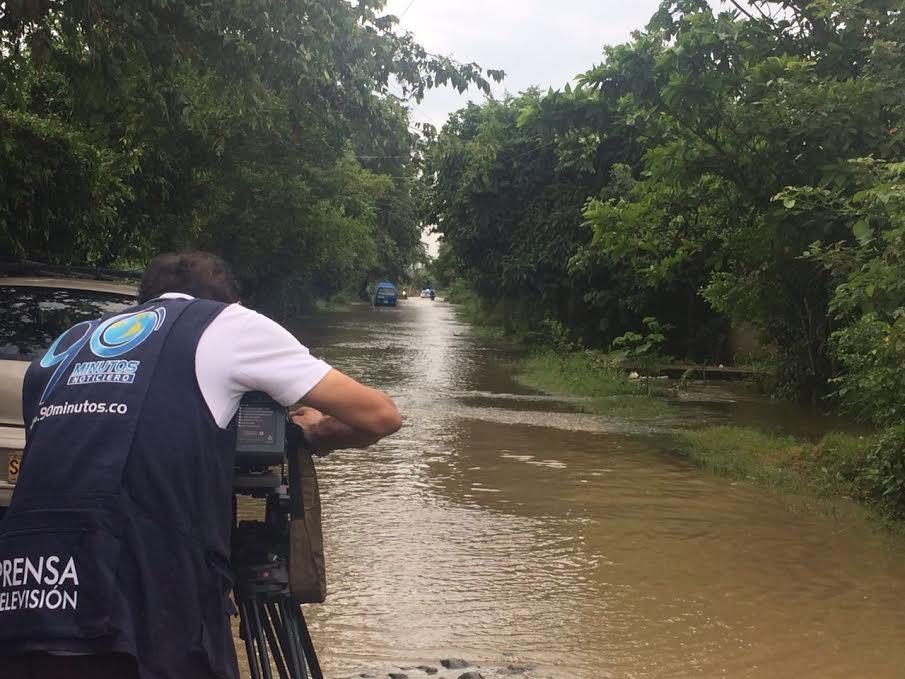 Lluvias dejan fuertes inundaciones en el municipio de Jamundí