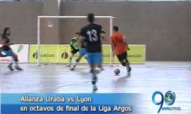 Lyon enfrenta esta noche a Alianza Urabá por Liga Argos de Futsal
