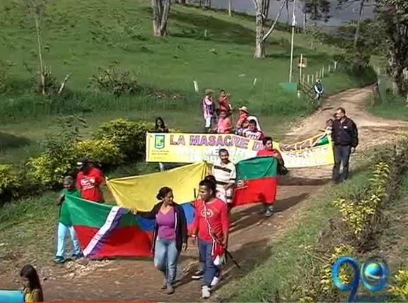Resguardos indígenas conmemoraron 15 años de El Naya