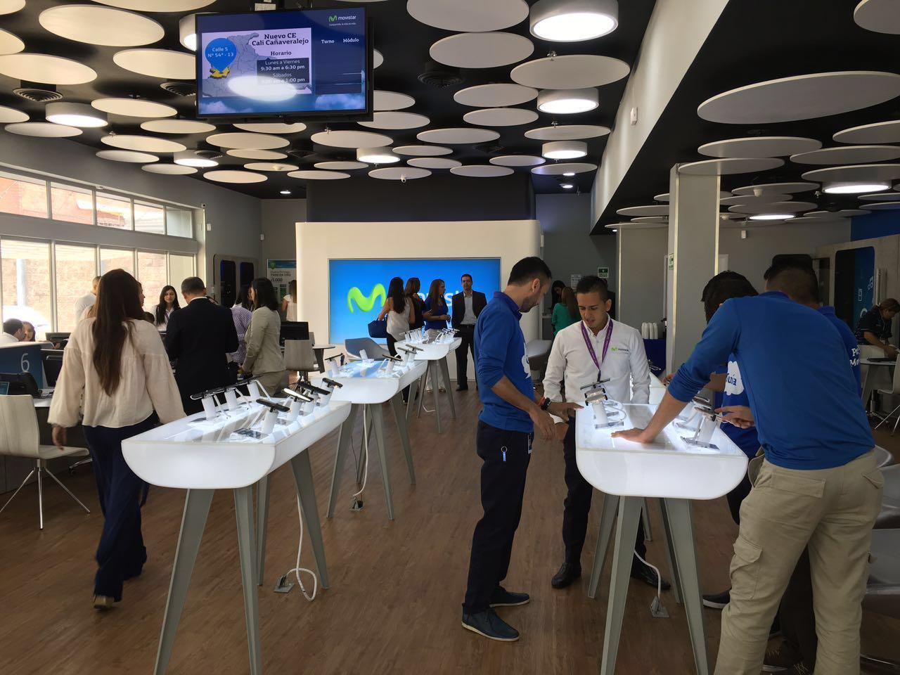 Movistar inauguró el primer Centro de Experiencia del país en Cali