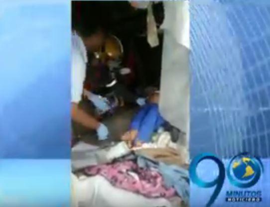 Hombre agredió a patadas a una habitante de calle en embarazo