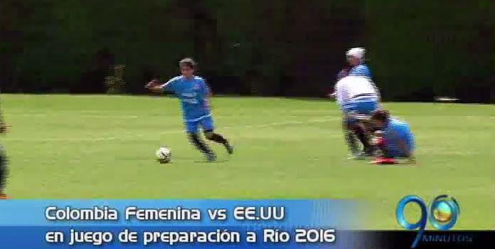 Colombia de futbol femenina en preparación a Río y más, en Panorama