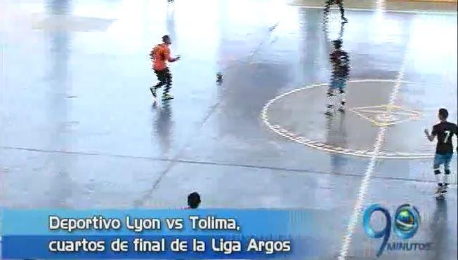 Deportivo Lyon en cuartos de final de Argos y más, en Panorama Deportivo