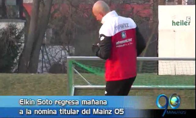 Elkin Soto regresa al fútbol activo y más, en Panorama Deportivo