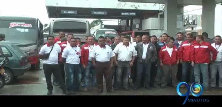 Paro de transporte público en Popayán, capital del Cauca, completa 4 días