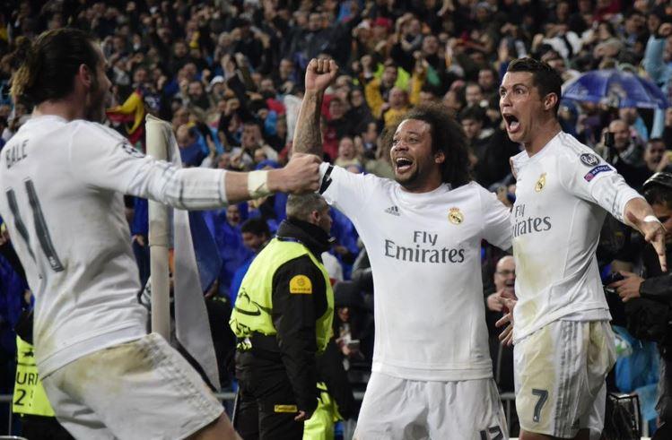 Sin James, Real Madrid dio vuelta a la serie y clasificó a semifinales de Champions