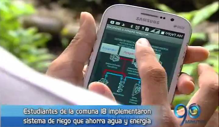 Aplicación móvil para optimizar sistemas de riego es finalista de RecOn