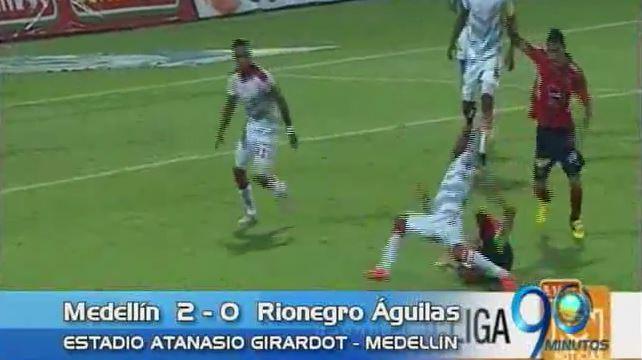 Rionegro Águilas perdió con el DIM pero sigue de líder de la Liga Águila