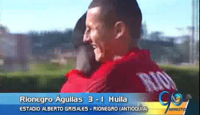 Rionegro Águilas lidera la Liga colombiana jugada la 13a. fecha