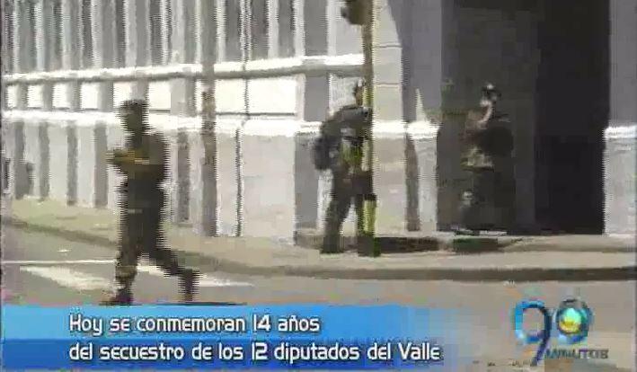 Se conmemoran 14 años del secuestro de diputados del Valle