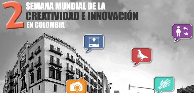 Segunda Semana Mundial de la Creatividad e Innovación, en Cali