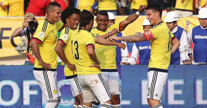"""""""Bamboleo"""", la nueva canción que bailan en la Selección Colombia"""