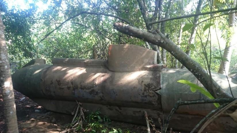 Incautan más de una tonelada de cocaína en un semisumergible en Nariño