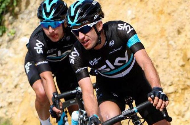 Sergio Luis Henao, líder de la Vuelta al País Vasco a falta de una jornada