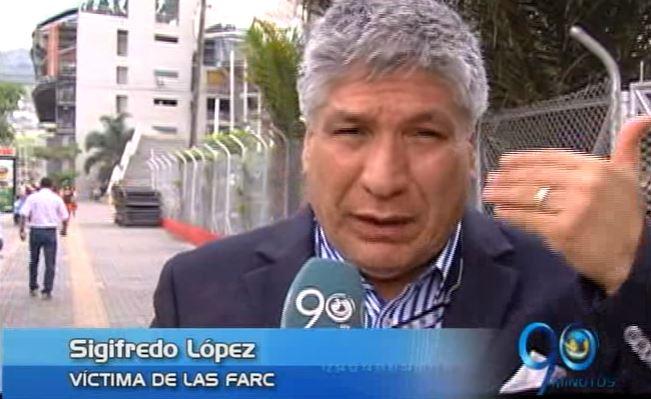 Ex diputado Sigifredo López afirma que ya es hora de perdonar