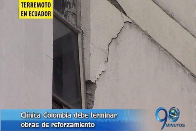 Preocupación por obras incompletas de la Clínica Colombia