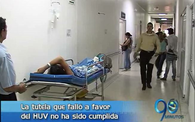 HUV no recibe aún dinero por fallo de tutela contra las EPS