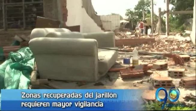Alcaldía reforzará vigilancia en el jarillón para prevenir nuevas invasiones