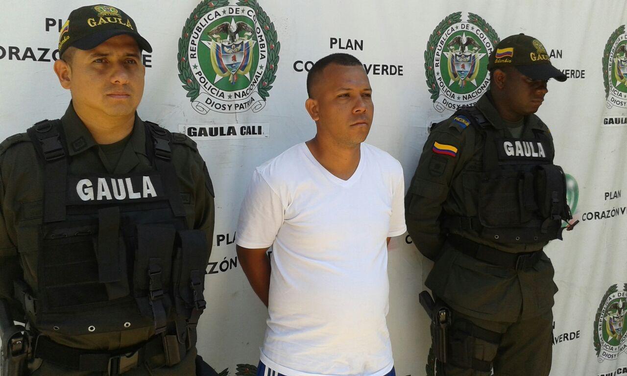 Capturado alias Piquiña, extorsionista de comerciantes en Cali