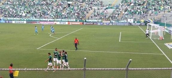 Deportivo Cali le ganó 3-2 a Jaguares en el Estadio de Palmaseca