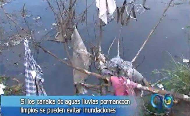 CVC alerta sobre mantenimiento de canales de aguas lluvias
