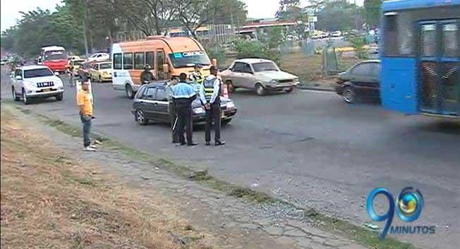 Sindicato de guardas de tránsito rechaza señalamientos de Alcalde