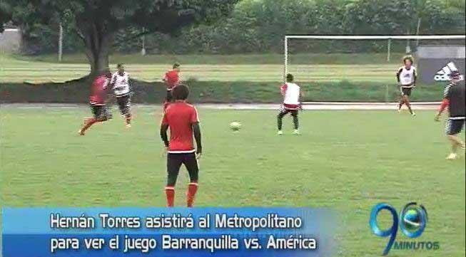América visita esta noche a Barranquilla FC en el Metropolitano