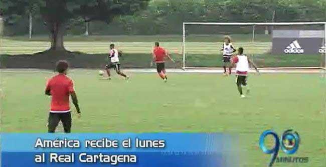 América debutará ante Real Cartagena el próximo lunes con el DT Hernán Torres