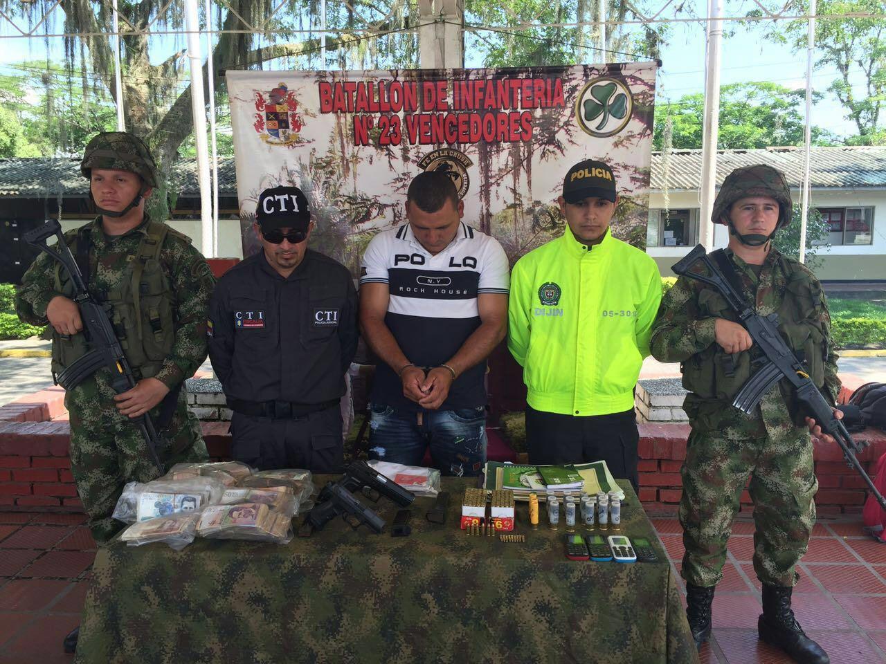 Ejército capturó a cabecilla del ELN en San José del Palmar, Chocó