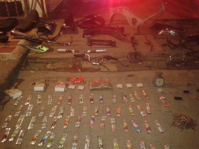 Capturadas seis personas de banda dedicada a hurtar motocicletas en Cali