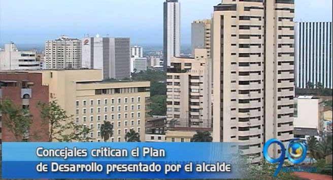 Concejales de Cali critican el plan de desarrollo presentado por Armitage