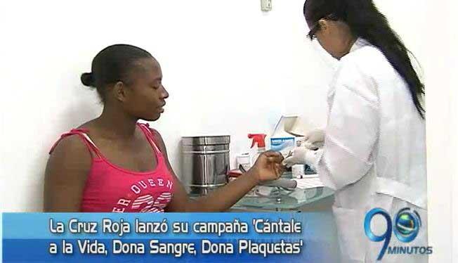 Cruz Roja lanzó la campaña 'Cántale a la Vida, Dona Sangre, Dona Plaquetas'