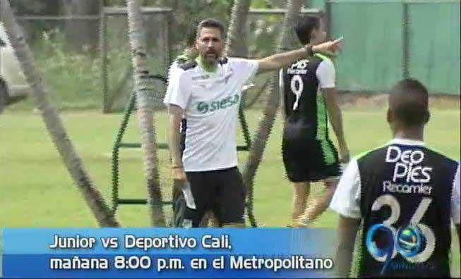 Deportivo Cali enfrenta a Junior este sábado en el Metropolitano