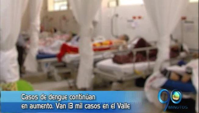 Autoridades de salud declaran epidemia de dengue en el Valle