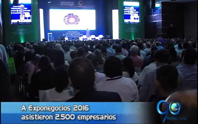 Más de 2.500 empresarios asistieron al cierre de Exponegocios 2016