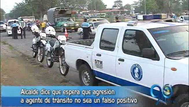 Sindicato de guardas de tránsito denuncia agresión contra una agente