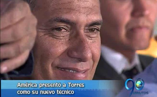 América presentó a Hernán Torres como su nuevo técnico