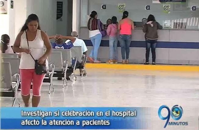 Investigan presunta celebración en el Hospital Primitivo Iglesias