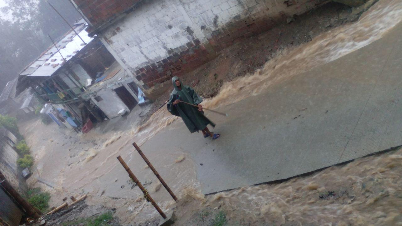 Municipios del norte del Valle, afectados por intensas lluvias