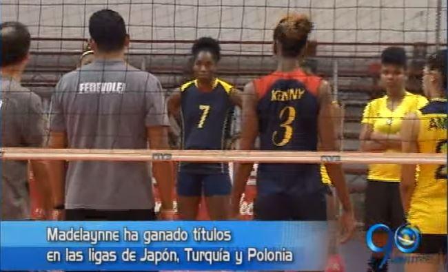 Madelaynne Montaño lidera Selección de voleibol que busca cupo olímpico