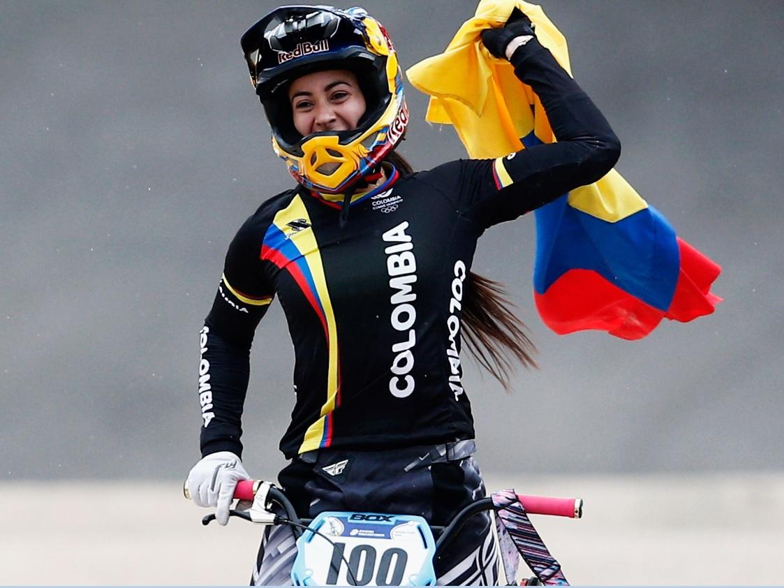 Mariana Pajón encabeza equipo colombiano para Mundial de BMX en Medellín