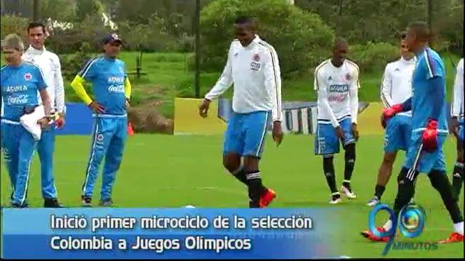 Inició en Bogotá primer microciclo de la Selección Colombia rumbo a Río