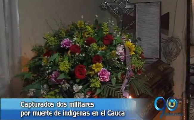 Capturan a dos militares sindicados de la muerte de un indígena en Cauca