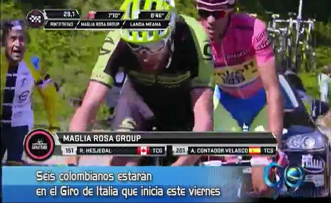 Colombianos en el Giro de Italia y más, en Panorama Deportivo