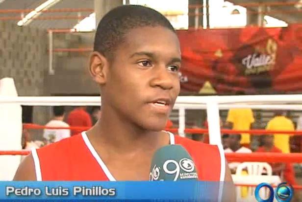 Pedro Luis Pinillos, promesa del boxeo caleño, va tras los pasos de Momo Romero
